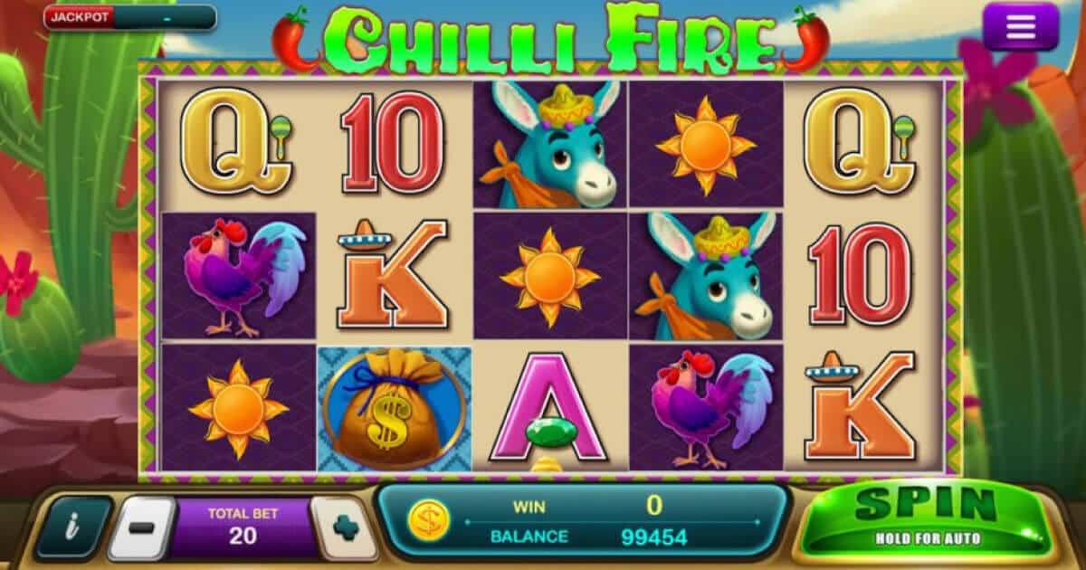 สล็อต Chilli Fire